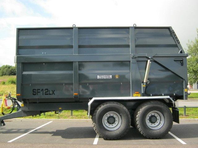 21167296 - Richard Western SF12LX Silage Trailer