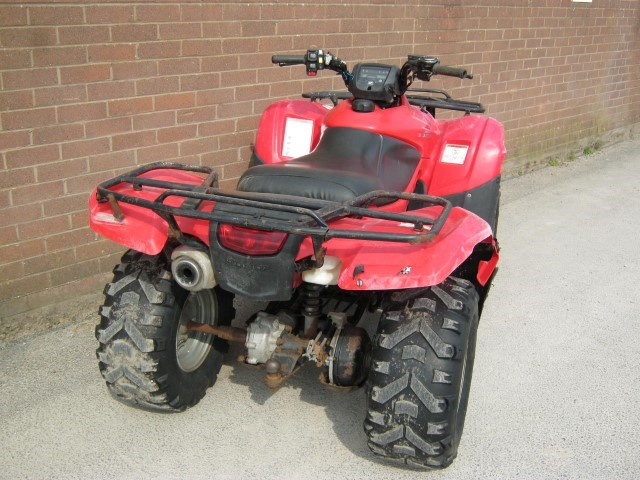 21170761 - Honda TRX420FE ATV Quad Bike