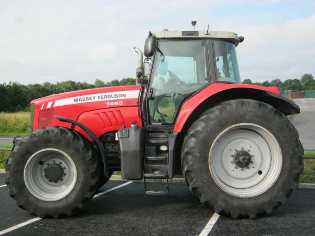 21173279 - Massey Ferguson 7495 VT Tractor