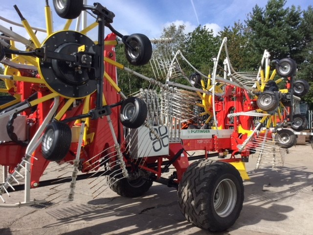 31169343 - Pottinger Top 1252C 4 Rotor Rake