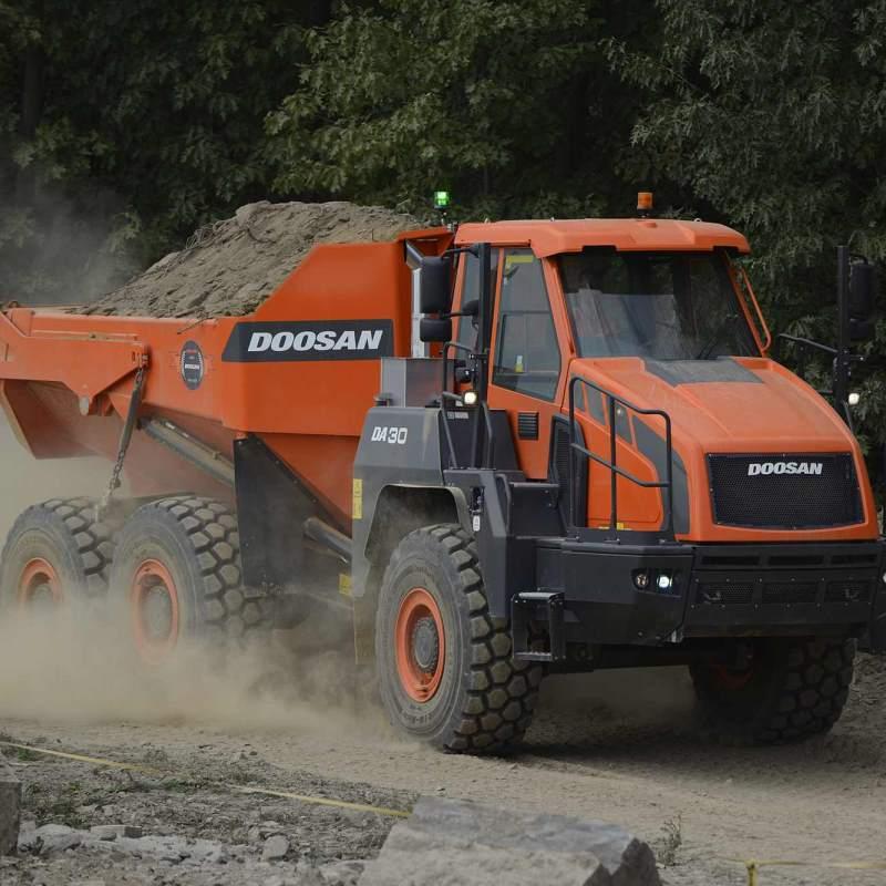 Doosan Articulated Dump Truck