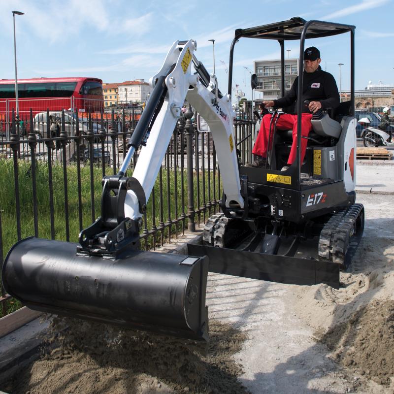 Bobcat E17z Mini-Excavator
