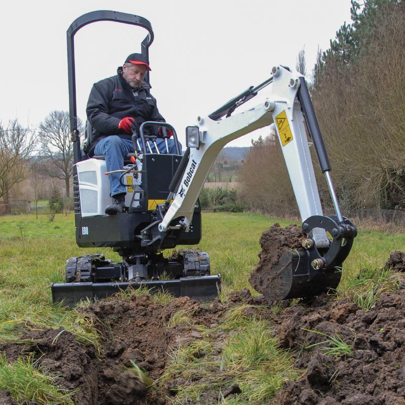 Bobcat Mini-Excavator