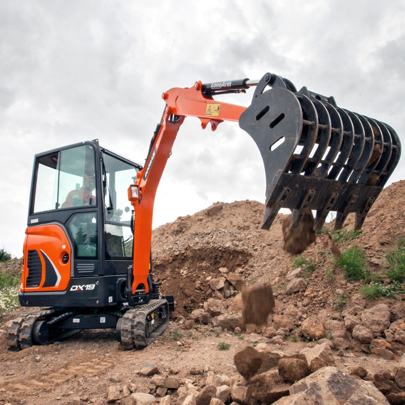 Doosan Mini-Excavators