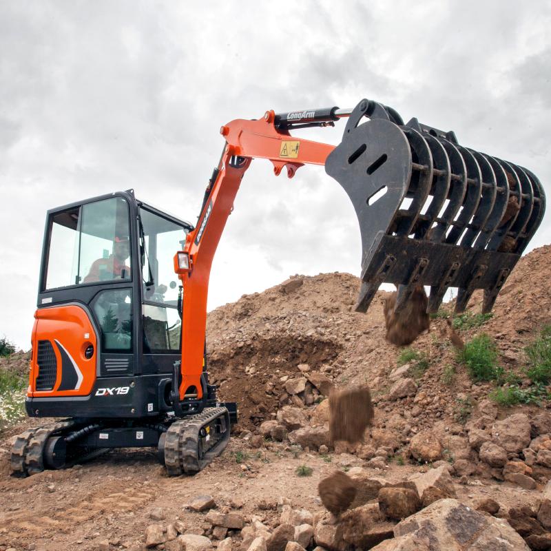 Doosan DX19 Excavator