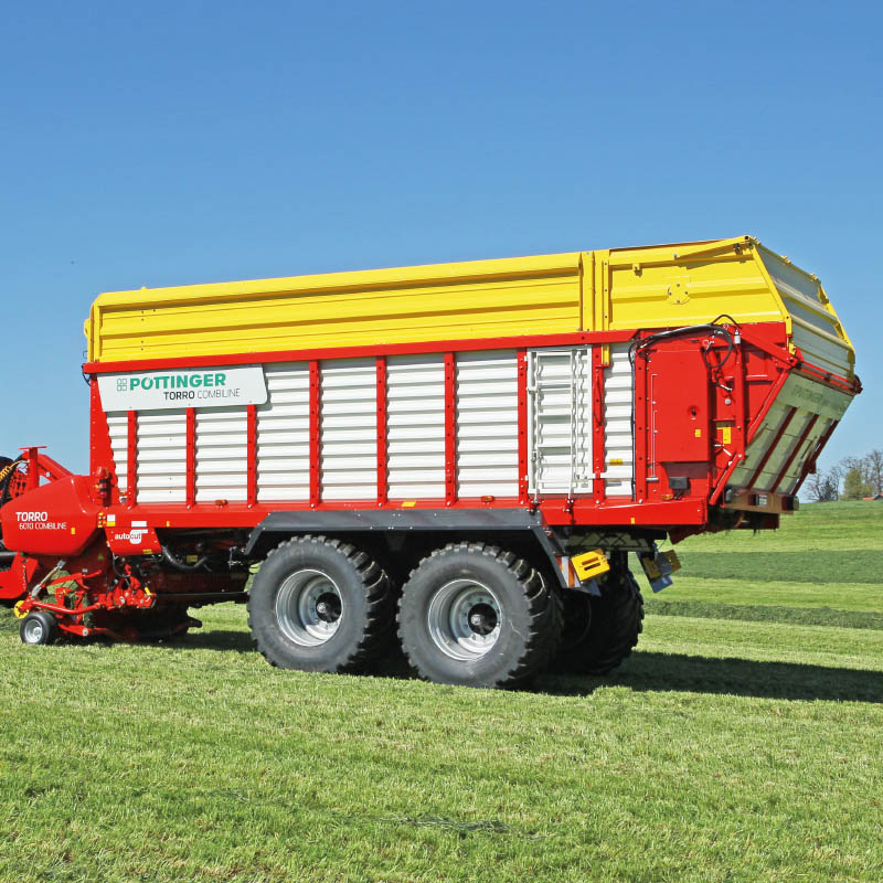 Pottinger Forage Wagon