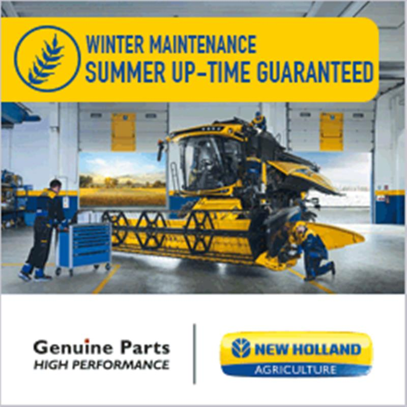 New Holland Combine Winter Servicing 2019
