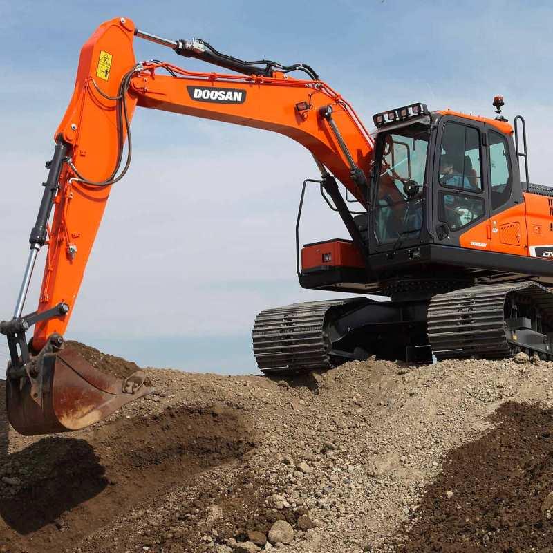 Doosan DX160 Excavator