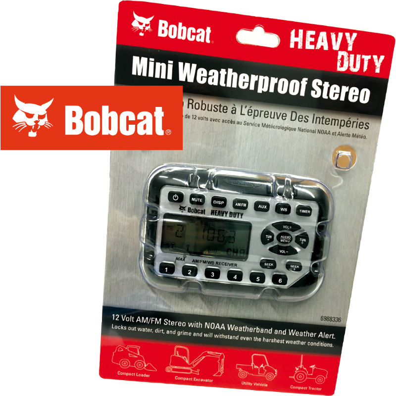 Bobcat Weatherproof Radio