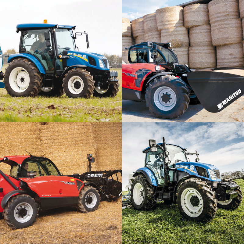 All-inclusive offer New Holland and Manitou