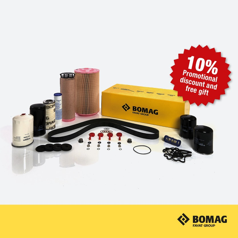 BOMAG Winter Parts Promotion