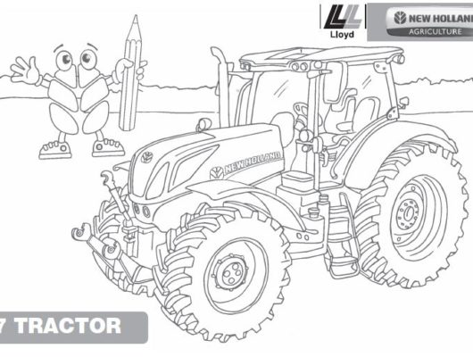 Tractor Coloring Pages John Deere - Coloring Home | 400x530