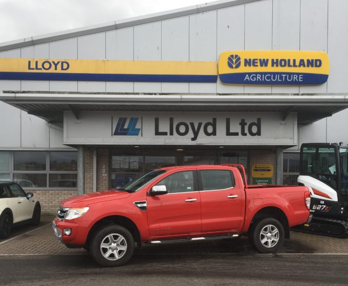PY15 HSZ - Ford Ranger Limited 2.2 Double Cab