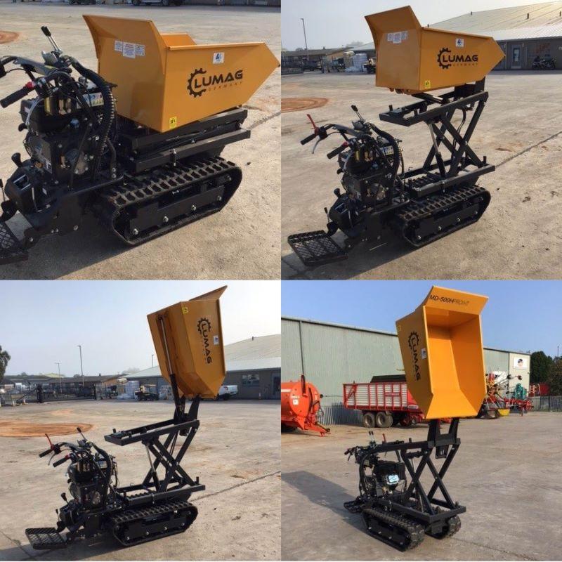 Lumag MD500H dumper available at Lloyd Ltd